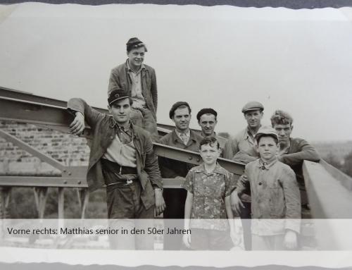 1956: Bau einer Ziegelei in Orbroich